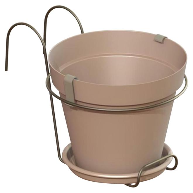 """Planter Pot - """"Capri"""" - 7.8"""" - Green"""