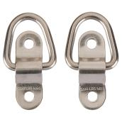 Flip Up Anchor Ring - Stainless Steel - 1200 lb - 2-Pack