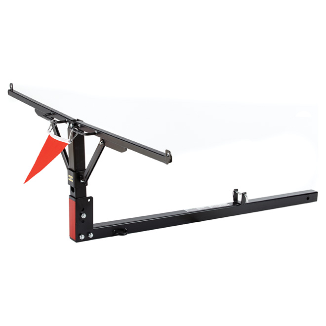 Big Bed Tail Gate Extender - Black Steel