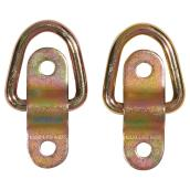 Flip Up Anchor Ring - Steel - 1200 lb - 2-Pack
