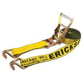 Ratchet Strap - Double J-Hook - 10000 lb - 2'' x 27'