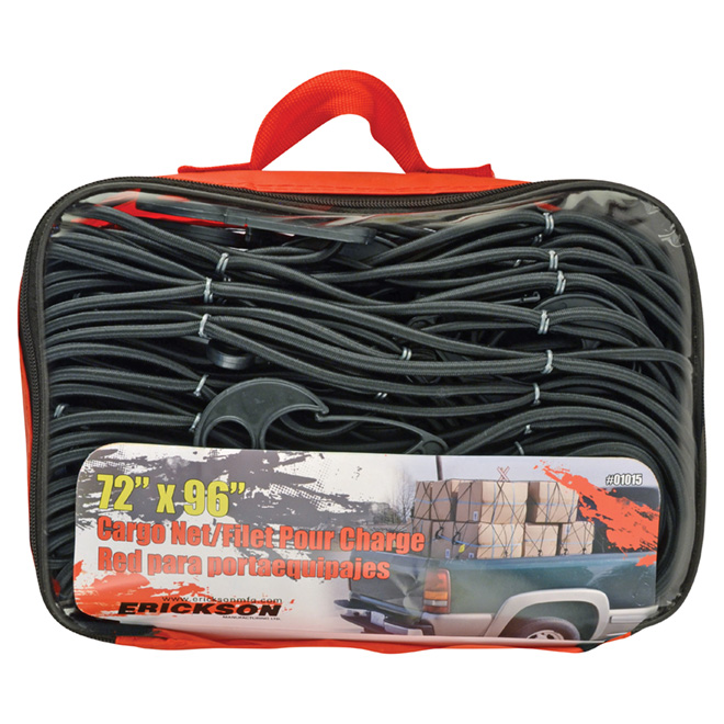 Cargo Net for Truck with Carry Bag - 72'' x 96''