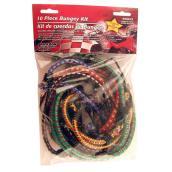 Assortiment de corde élastique, paquet de 10