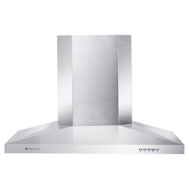 """Range Hood - 29 1/2"""" - 450 CFM - Stainless Steel"""