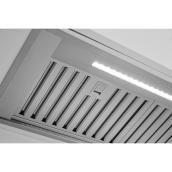 Mistral Built-in Range Hood - LED - 29.5-in - 600 CFM - Stainless Steel