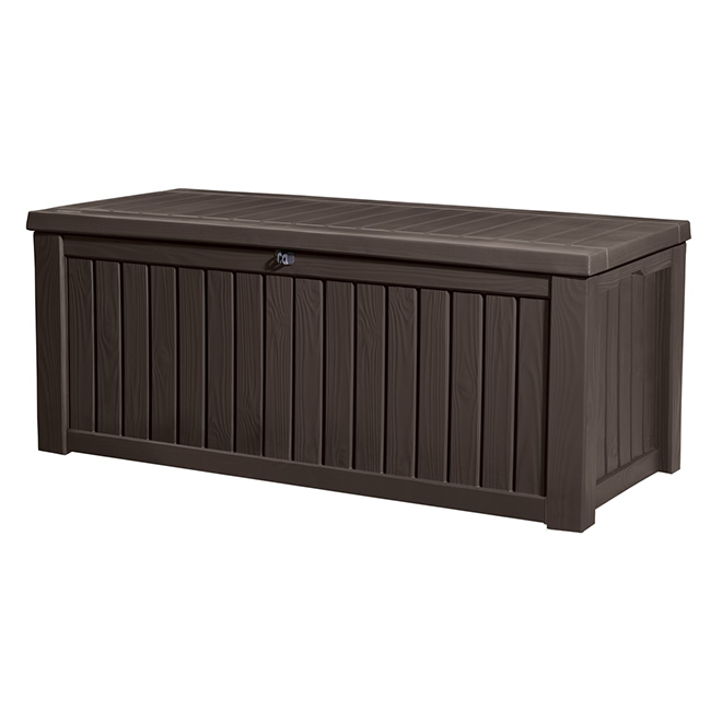 Rockwood Resin Storage Box   150 Gal.   Brown