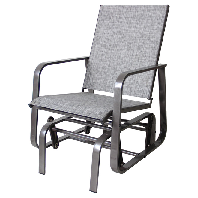 Chaise Ber Ante De Patio Manhattan Grise RONA
