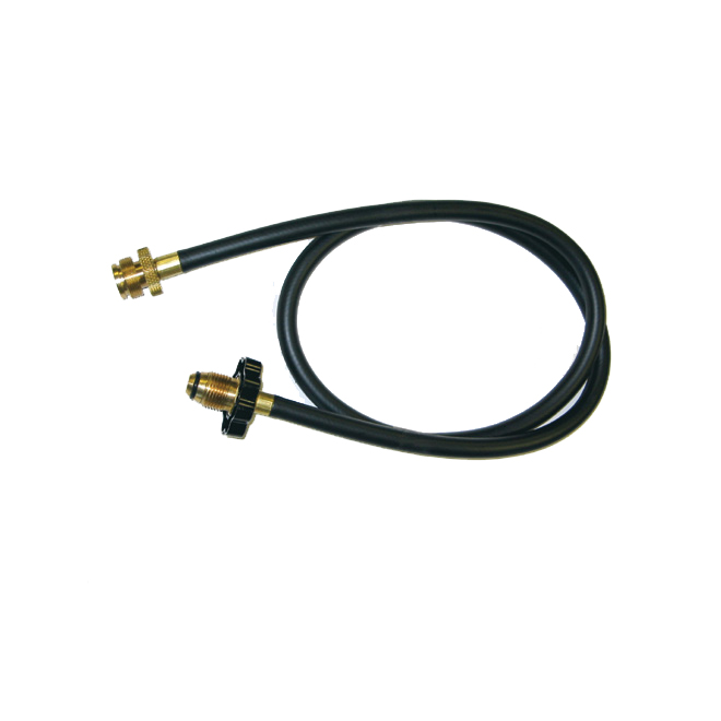 Hose and Adapter for Barbecue