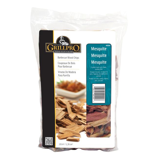 Copeaux de bois Grillpro, mesquite, sac de 2 lb