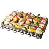 Ensemble de 6 brochettes et support