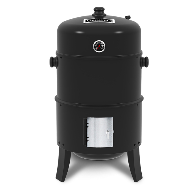 GrillPro Traditional Charcoal Smoker - 16''x30'' - 400 sq in  31816