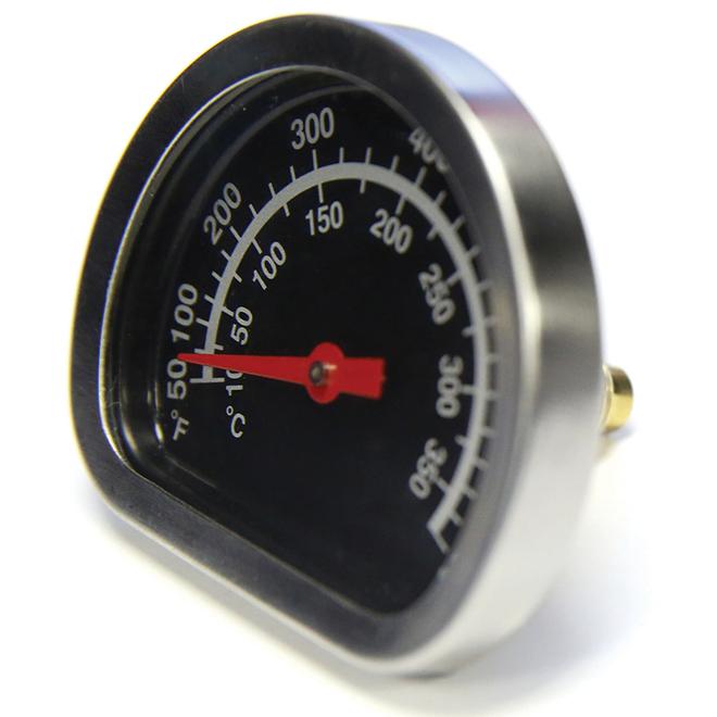 Genius Heat Indicator for Barbecue - Chrome