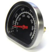 Indicateur de chaleur pour BBQ, chrome