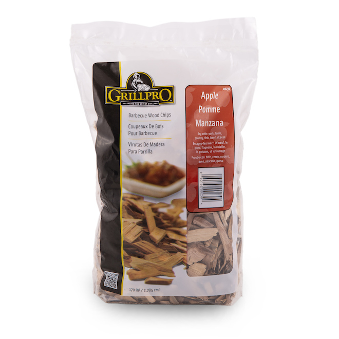 GrillPro Wood Chips - Apple Flavour - 1.2 lb