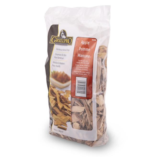 Copeaux de bois GrillPro, saveur de pommes, 1,2 lb