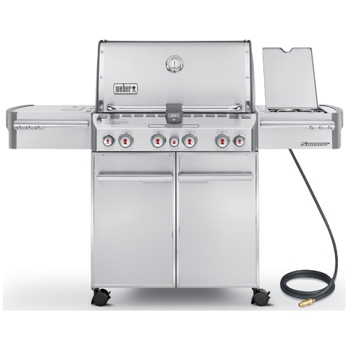 Natural Gas BBQ - 580 sq.in. - 88,800 BTU - Stainless Steel