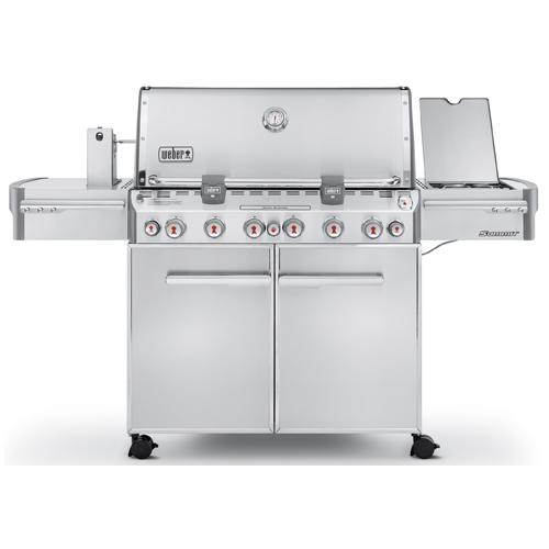Weber Summit S-670(TM) Propane Gas BBQ - 100,000 BTU - Stainless Steel