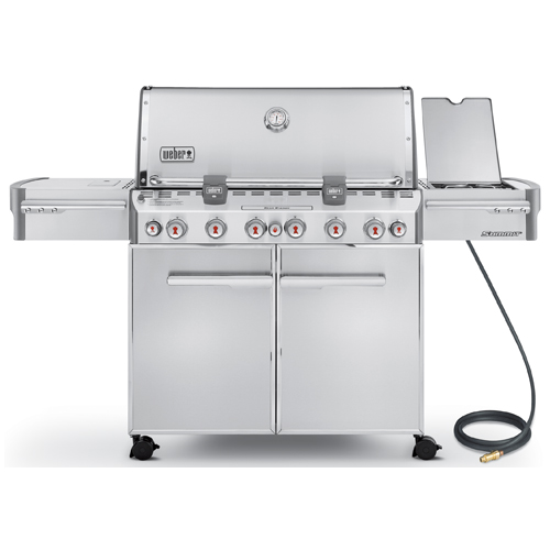 Natural Gas BBQ - 769 sq.in. - 100,000 BTU - Stainless Steel