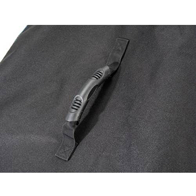 Broil King Deluxe Barbecue Cover - 64 in x 45.5 in x 23 in - Polyester - Black