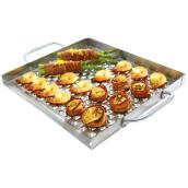 Flat Grill Topper - Stainless Steel
