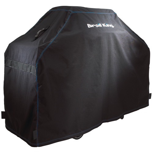 """Broil King Barbecue Cover - 76"""" x 48"""" x 25"""" - Black"""