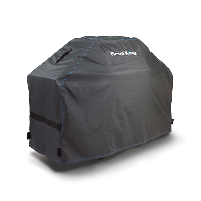 Broil King Deluxe Gas Grill Cover - 58 in x 46 in x 21.5 in - Polyester and PVC