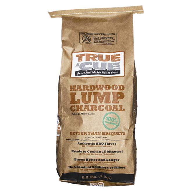 True'Cue(TM) Hardwood Lump Charcoal - 4 kg