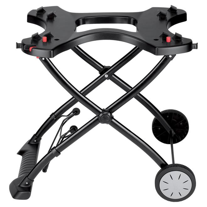 Weber Q(R) Portable Grill Cart - Black