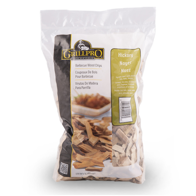 Grill Pro Hickory Wood Chips - 2.63 lb