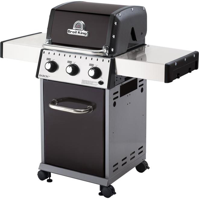 Barbecue au gaz propane, 30 000 BTU, 440 po²