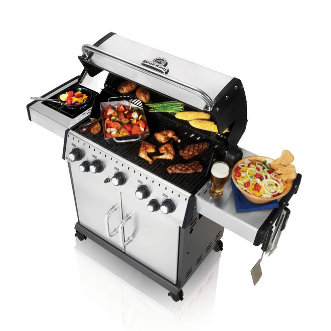 Natural Gas BBQ - 805 sq.in.