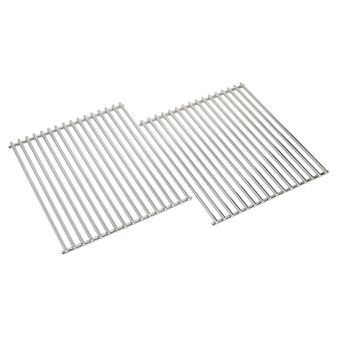 Barbecue Grids - 12.75 in x 15 in - Stainless Steel - 2/Pack