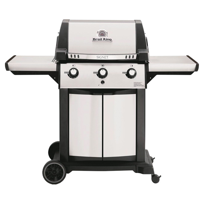 Propane Barbecue - 635 sq. in. - 40,000 BTU - Stainless Steel