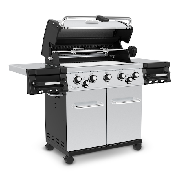 Broil King Regal(TM) S590 Pro Propane Gas BBQ - 80,000 BTU - Stainless Steel