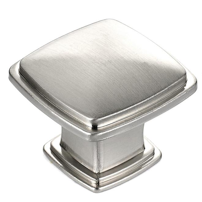 Richelieu Transitional Metal Knob - Charlemagne - 31 mm - Brushed Nickel