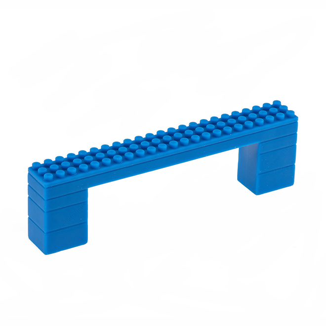 Contemporary Plastic Pull - 117 mm - Blue