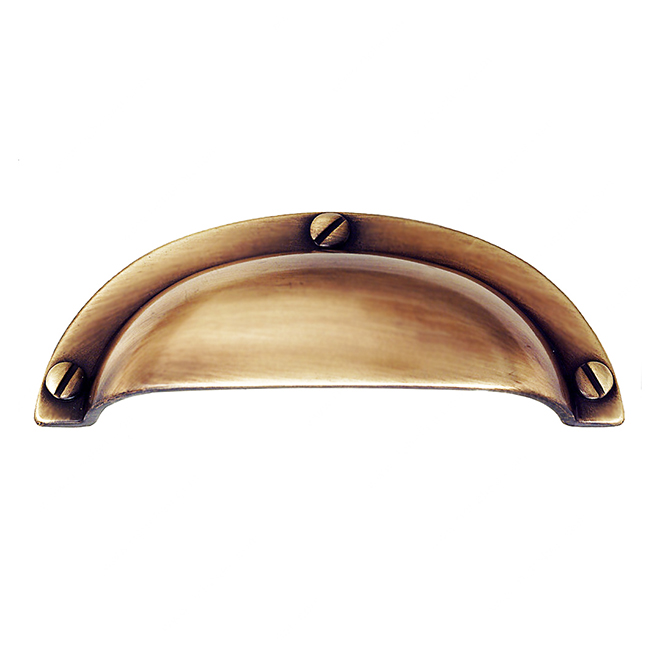Metal Cup Pull - 96 mm - Champagne Bronze