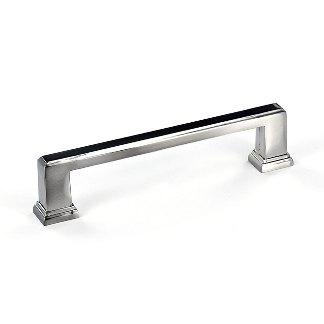 Richelieu - Pull - Mirabel - Metal - 128 mm - Brushed Nickel