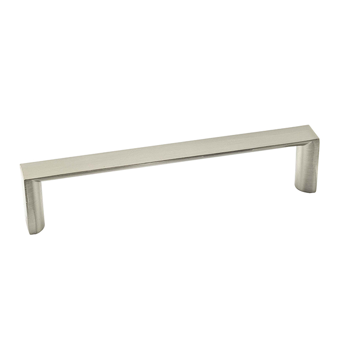 Contemporary Metal Pull - 165 mm - Brushed Nickel