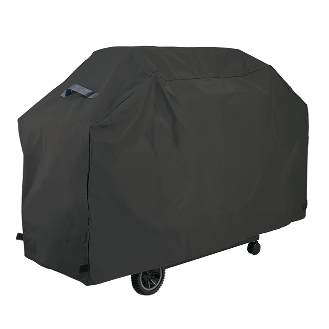 "GrillPro Barbecue Cover - 80"" x 24"" x 40"" - Polyester - Black"