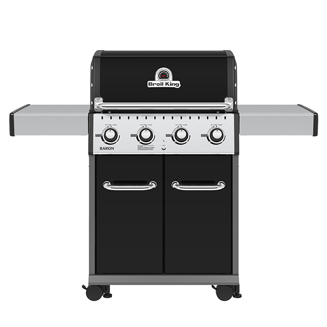 Barbecue au gaz naturel Baron 420, 40 000 BTU, 644 po², noir