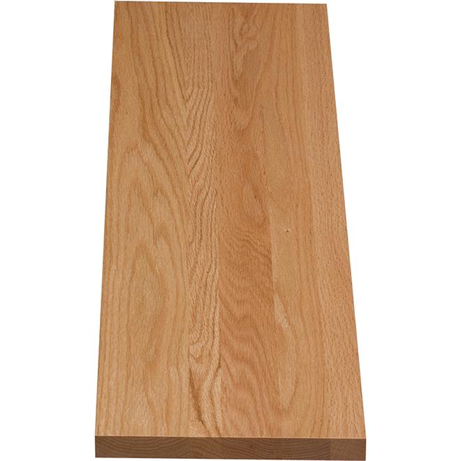"Oak Stair Riser - 42"" - Natural"