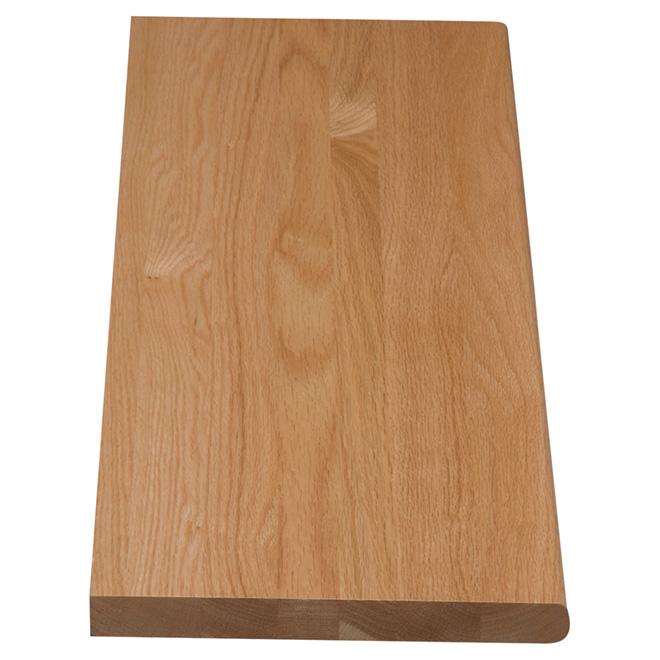 "Oak Stair Tread - 48"" - Natural"