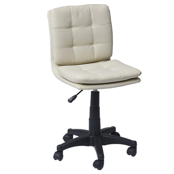"Chaise de bureau Dura, Atlanta, 17"" x 19"" x 35"", blanc cassé"
