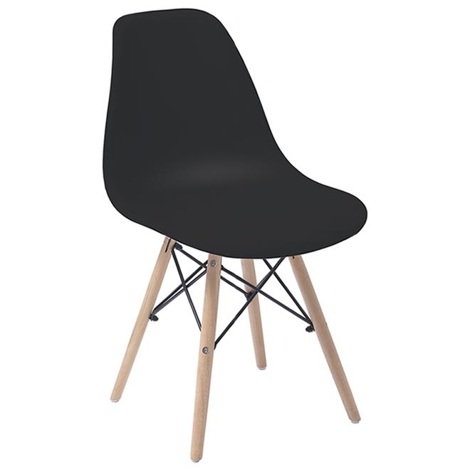 Chaise de bureau Dura, Boca, noire