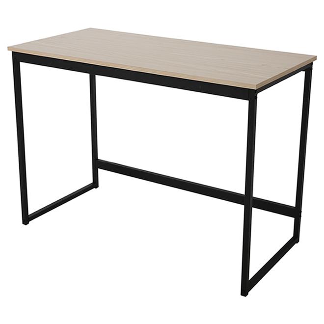 Dura Cologne 41.3-in Traditional Black Computer Desk