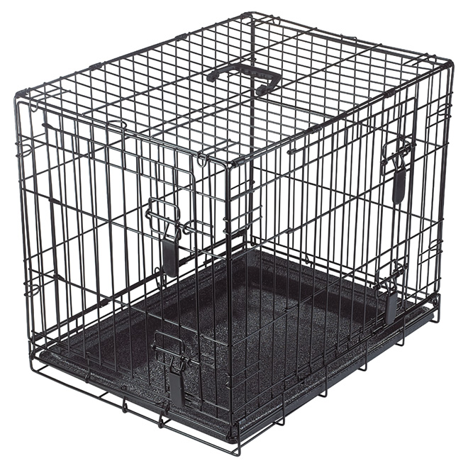 Dogit Wire 2 Door Dog Crate With Divider Small 90562 Rona