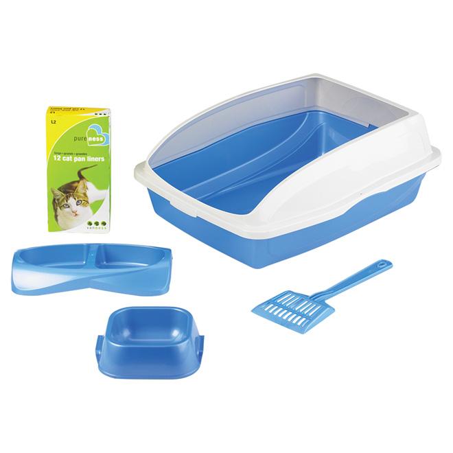 Cat Litter Pan Starter Kit
