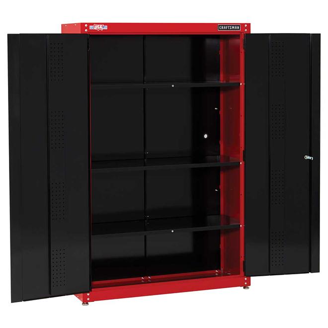 Craftsman Steel Freestanding Garage, Craftsman Floor Cabinet Assembly Instructions