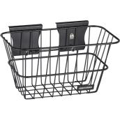 Craftsman VersaTrack Wall Storage Wire Basket - Black Steel